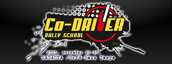 5. Co-Driver Rally School