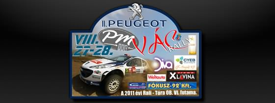 II. PM Peugeot Vác Rally