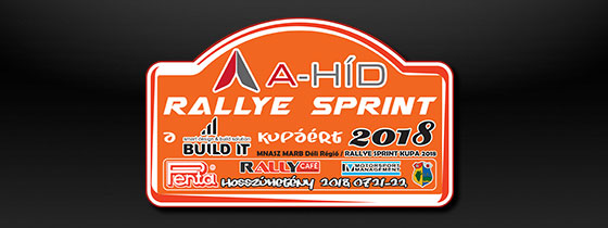 A-Híd Rallye Sprint a Build IT kupáért
